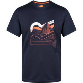 Regatta Fingal IV t-shirt Heren blauw
